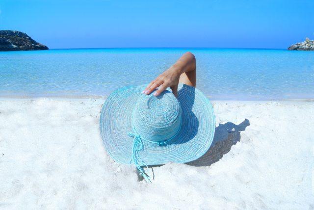 blaue Entspannung